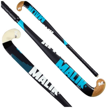 Picture of Senior Field Hockey Stick AZUL Indoor Wood Multi Curve - Quality: GALAXY, Head Shape: J Turn