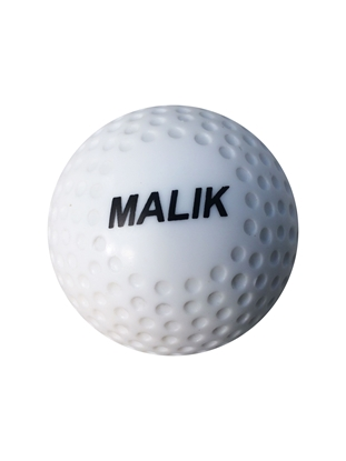 Malik White Dimple Ball Front