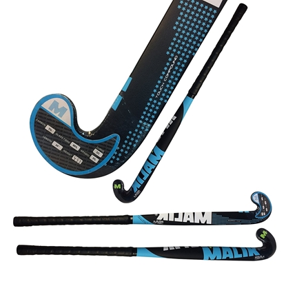 Picture of Junior Field Hockey Sticks Outdoor AZUL Dribble Curve DC - 5% Carbon - 5% Aramid - 90% Fiber Glass