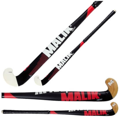 Picture of Senior Field Hockey Stick Heat Wood Outdoor Multi Curve - Quality: MARS, Head Shape: J Turn