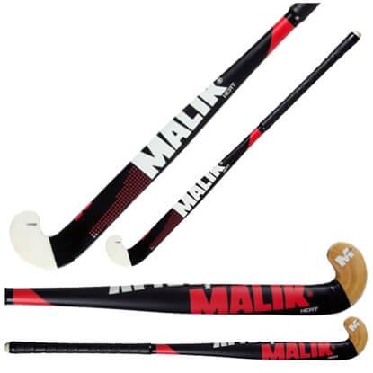 Picture of Senior Field Hockey Stick Heat Wood Outdoor Multi Curve - Quality: MARS, Head Shape: J Turn