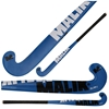 Picture of Field Hockey Stick Slam J Blue, Black, and Silver Outdoor Wood Multi Curve - Quality: Pluto J, Head Shape: J Turn