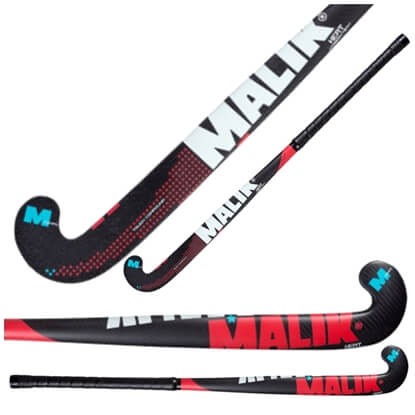 Picture of Field Hockey Stick Heat Indoor Composite Multi Curve - 20% Carbon - 5% Aramid - 75% fiber Glass