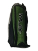Malik Shinguards Forest Green in draw string bag