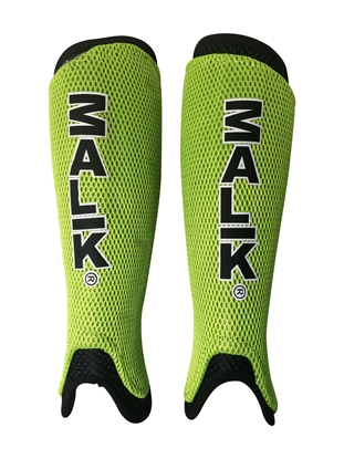 Malik Lime Green Shinguard Pair
