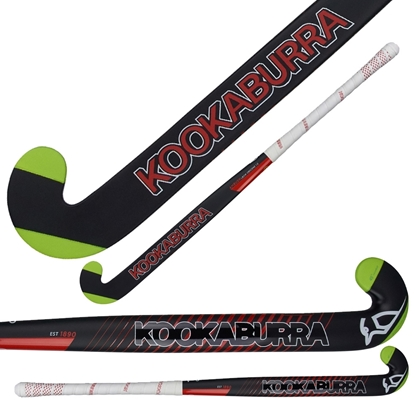 Picture of Field Hockey Stick Ambush L-bow Obscene 1.0 - 40% Composite Carbon 60% Fiberglass by Kookaburra 36.5 & 37.5 Inch