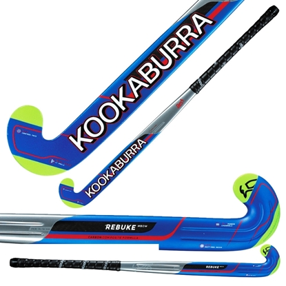 Picture of Field Hockey Stick Rebuke M-Bow by Kookaburra 80% Composite Carbon 20% Fibreglass