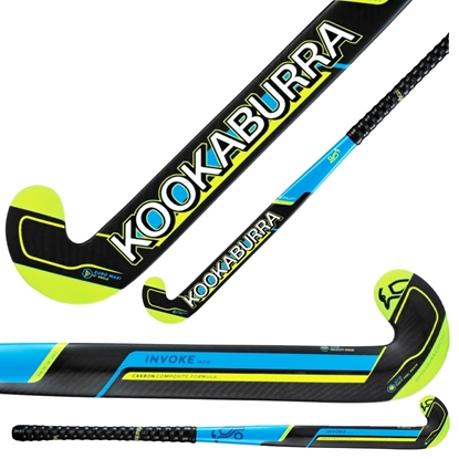 Picture of Field Hockey Stick Invoke I-Bow by Kookaburra 65% Composite Carbon 35% Fibreglass