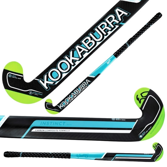 Picture of Field Hockey Stick Instinct I-Bow by Kookaburra 85% Composite Carbon 15% Fibreglass