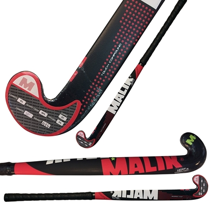 Picture of Junior Field Hockey Stick Junior Carbon-Tech HEAT Outdoor Multi Curve - 5% Carbon - 5% Aramid - 90% Fiber Glass