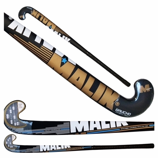 Field Hockey Stick Gaucho Indoor Composite Multi Curve - 50% Carbon - 5% Aramid - 45% fiber Glass