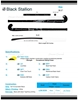 Picture of Field Hockey Stick Black Stallion Composite Carbon 100% Low Bow Maxi Power Curves™ 36.5'' Inch 37.5'' Inch