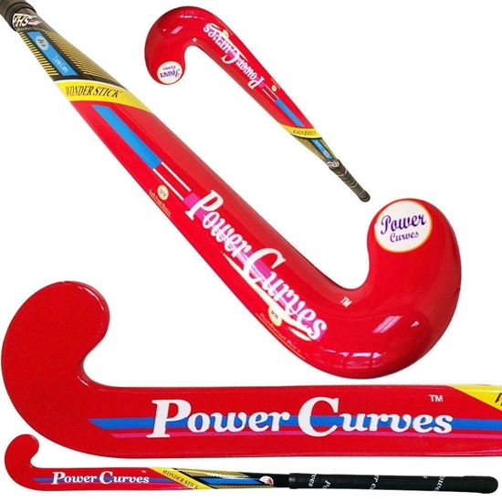 Picture of Field Hockey Stick Wonder Senior 40% Composite Carbon 60% Fiber Glass Continuous Bow - Power Curves 36.5'' Inch 37.5'' Inch