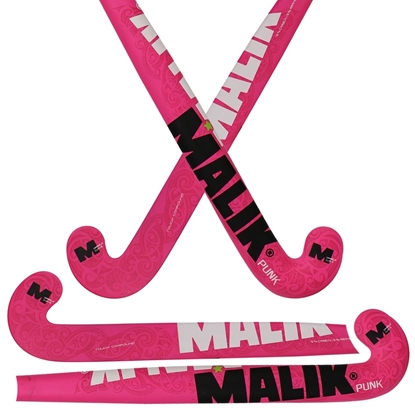 Picture of Field Hockey Stick Pink Punk Outdoor Multi Curve 15% Composite Carbon - 5% Aramid - 80%  Fiber Glass Size 36.5'' Inch