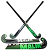 Picture of MALIK Field Hockey Stick Indoor Fresh Composite 5% Carbon 5% Aramid 90% Glass Fiber Low Bow Light Weigh 410-435 Grams