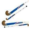 Picture of Field Hockey Stick Blue Outdoor Wood by F HS Extra Low Bow Maxi Shape Color Blue