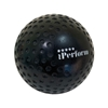 Picture of Field Hockey Ball Dimple Black Color Buy Single / One Ball