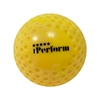Picture of Field Hockey Ball Dimple Color Gold Yellow Buy Pack of Six Balls