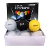 Picture of Field Hockey Ball Dimple Black Color Buy Pack of Six Balls
